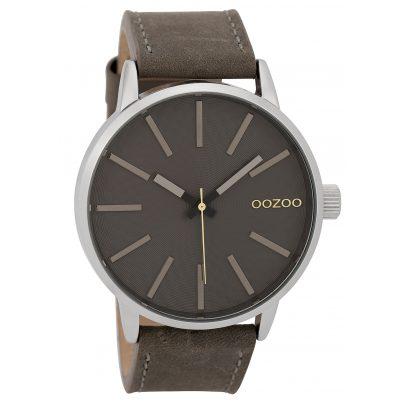 Oozoo C9606 Herrenuhr 45 mm Design-Zifferblatt Grau 8719929005639