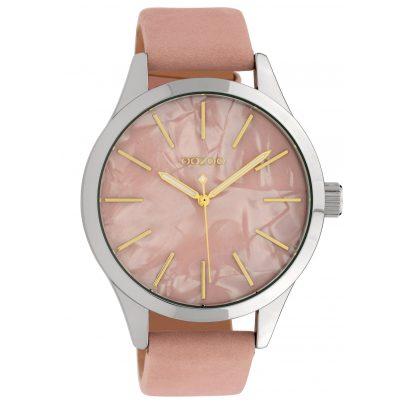 Oozoo C10072 Damen-Armbanduhr Perlmutt/Rosa 45 mm 8719929010930
