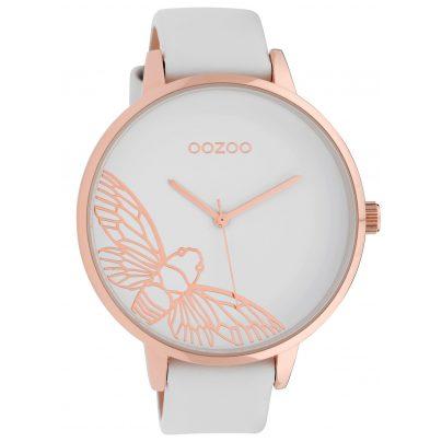 Oozoo C10075 Ladies' Watch Dragonfly White 48 mm 8719929010961