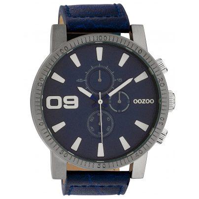 Oozoo C10065 Herren-Armbanduhr Dunkelblau 50 mm 8719929010862