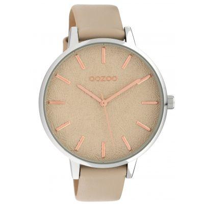 Oozoo C10158 Damen-Armbanduhr Lederband Sand 45 mm 8719929011791