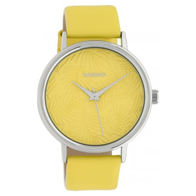 Oozoo C10169 Ladies' Watch with Leather Strap Yellow 8719929011906