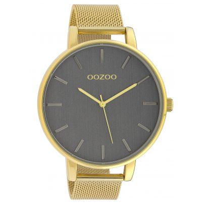Oozoo C10219 Herrenuhr Goldfarben 48 mm 8719929016109