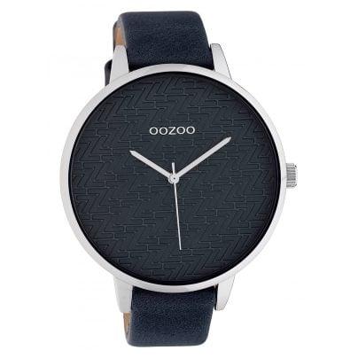 Oozoo C10409 Damenuhr Lederband Ø 45 mm Grau 8719929015188