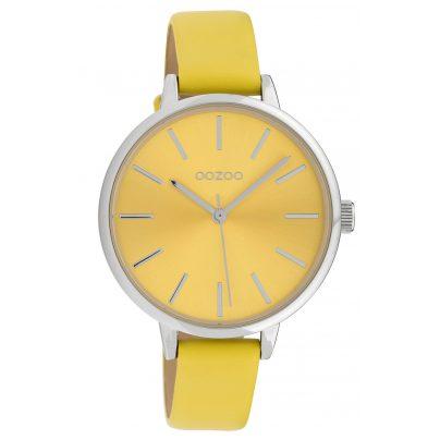Oozoo C10256 Damen-Armbanduhr mit Lederband Gelb Ø 36 mm 8719929017175