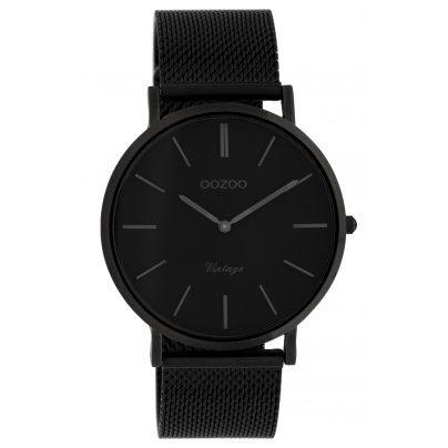 Oozoo C9933 Ladies' Wristwatch Vintage Black 40 mm 8719929009934