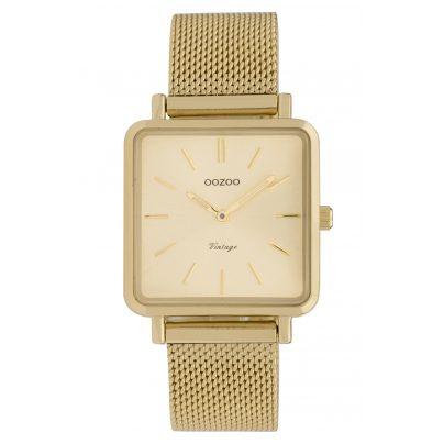 Oozoo C9844 Ladies' Watch Vintage Gold-Tone 8719929008326