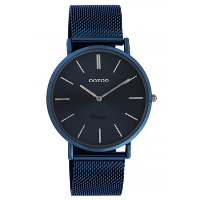 Oozoo C20003 Damen-Armbanduhr Ultra Slim Nachtblau 40 mm 8719929015928
