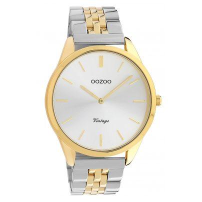 Oozoo C9984 Damenuhr Metallband Ø 38 mm Stahl/Bicolor 8719929013665