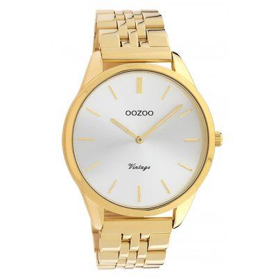 Oozoo C9986 Damenuhr Metallband Ø 38 mm Gold-/Silberfarben 8719929013689