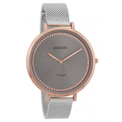 Oozoo C9856 Ladies' Watch Vintage Rose/Grey 40 mm 8719929008449