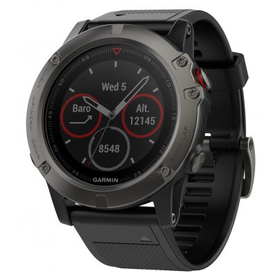 Garmin fenix 5X Saphir GPS Multisport Smartwatch 010-01733-01