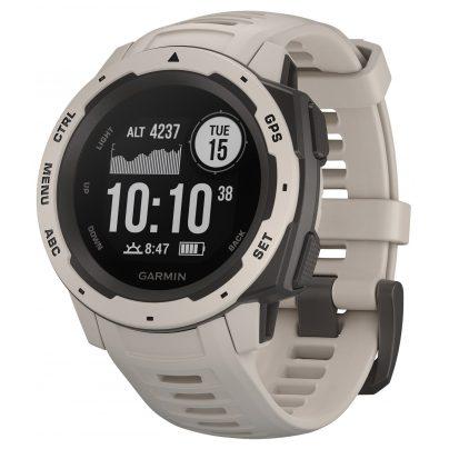 Garmin 010-02064-01 Outdoor-Smartwatch Instinct Hellgrau/Schiefergrau 0753759214579