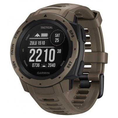 Garmin 010-02064-71 Instinct Tactical Outdoor-Smartwatch Hellbraun 0753759242244