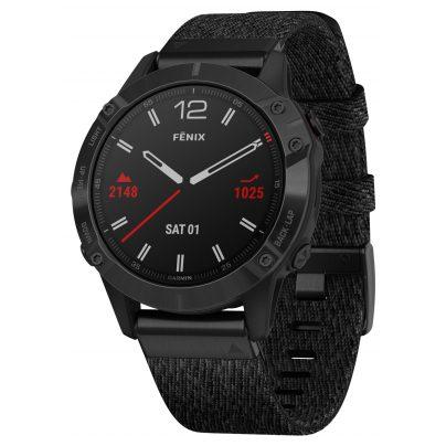 Garmin 010-02158-17 fenix 6 Saphir Smartwatch Schwarz/Schwarz 0753759232818
