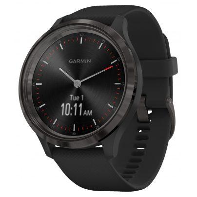 Garmin 010-02239-01 vivomove 3 Smartwatch Silikonband Schwarz/Schiefergrau 0753759234317