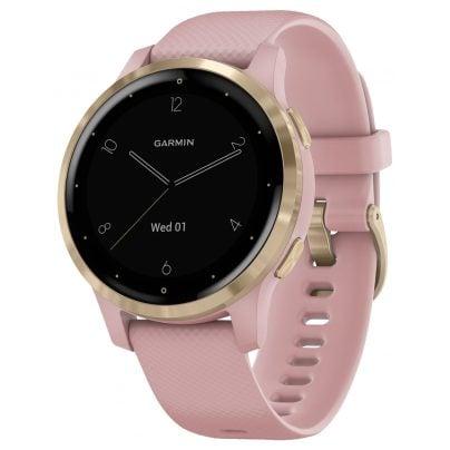 Garmin 010-02172-32 vivoactive 4s GPS Fitness-Smartwatch Rosa/Gold 0753759227777