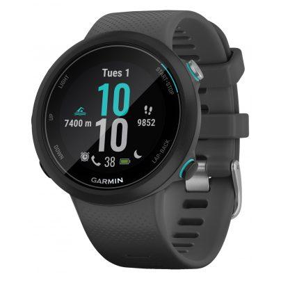 Garmin 010-02247-10 Swim 2 Smartwatch Schiefergrau/Schwarz 0753759229306