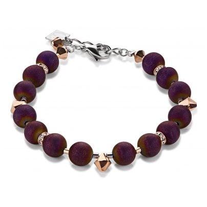 Coeur de Lion 4782/30-800 Damen-Armband Purple 4250409683564