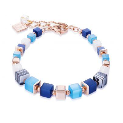 Coeur de Lion 4963/30-0706 Damen-Armband Blau/Türkis 4251588302772