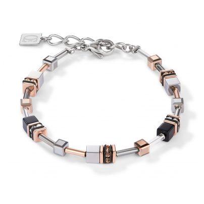 Coeur de Lion 5008/30-1631 Damen-Armband Edelstahl roségold-silber 4251588311767