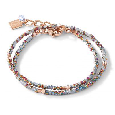 Coeur de Lion 5033/30-720 Damen-Armband Edelstahl roségold / silber 4251588311354