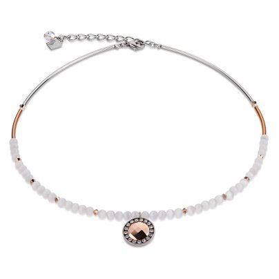 Coeur de Lion 4866/10-1400 Damen-Halskette Weiß 4250409688484