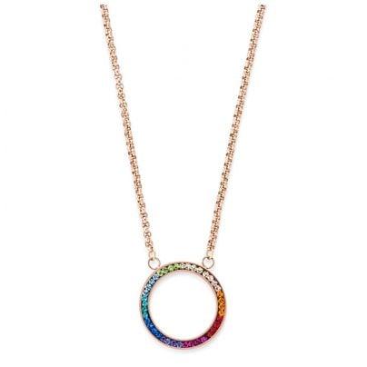 Coeur de Lion 4957/10-1500 Damen-Halskette Multicolor 4251588302185