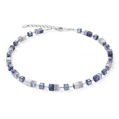 Coeur de Lion 4017/10-0700 Damen-Kette Blau 4251588307500