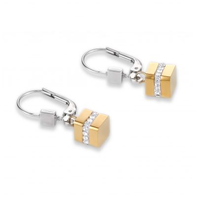 Coeur de Lion 4966/20-1617 Women's Earrings Two-Tone 4251588303977