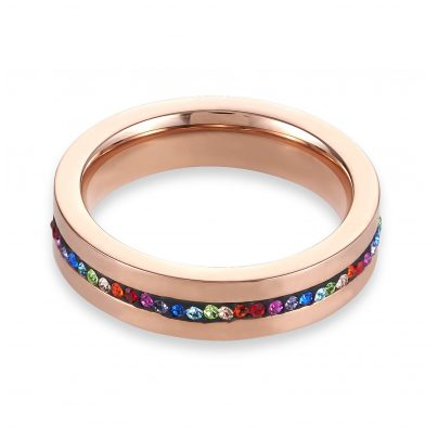 Coeur de Lion 0226/40-1500 Damen-Ring Multicolor