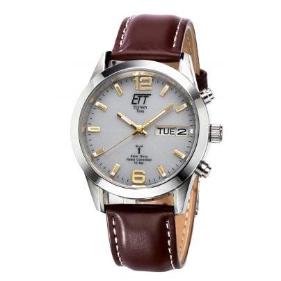 ETT Eco Tech Time EGS-11248-12L Solar Drive Funk Herrenuhr Gobi 4260091354475