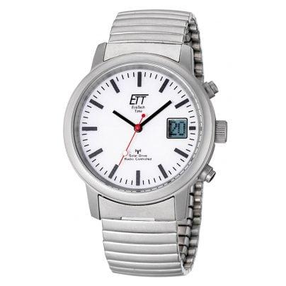 ETT Eco Tech Time EGS-11187-11M Solar Drive RC Mens Watch 4260091348313
