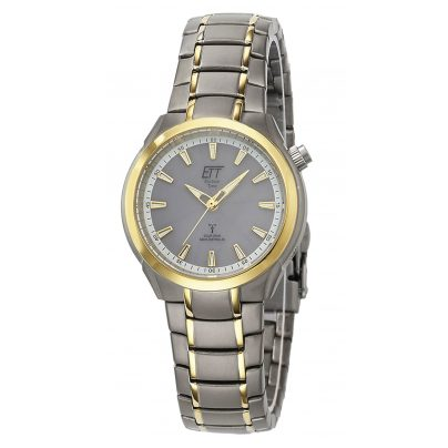 ETT Eco Tech Time ELT-11338-52M Solar Drive RC Ladies Watch Aquanaut II 4260411159513