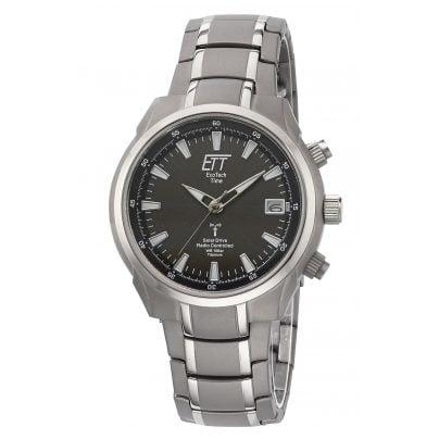 ETT Eco Tech Time EGT-11340-61M Solar Drive RC Mens Wrist Watch Aquanaut II 4260411159537