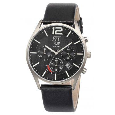 ETT Eco Tech Time EGT-12051-21L Herrenuhr Solar Chronograph Titan 4260503034667