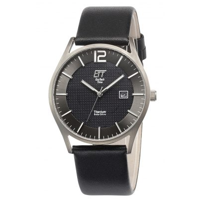 ETT Eco Tech Time EGT-12056-51L Herrenuhr Solar Titan 4260503034629