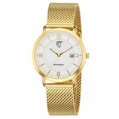 ETT Eco Tech Time EGS-12080-12M Men's Watch Solar Drive Sahel 4260503034933