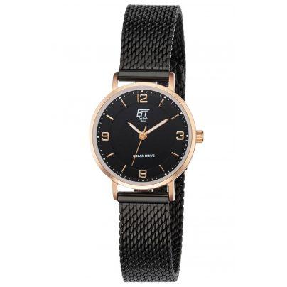 ETT Eco Tech Time ELS-12081-22M Damen Solar-Armbanduhr Sahel 4260503034940