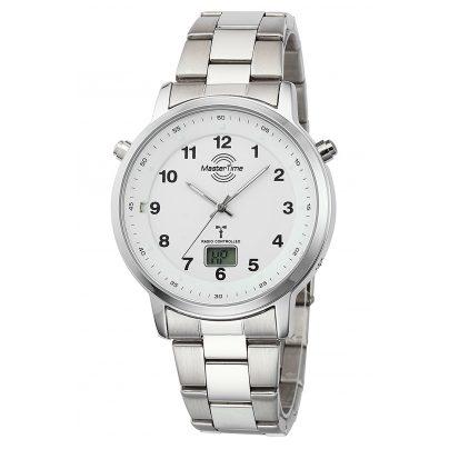 Master Time MTGA-10696-22M Herren Funk-Armbanduhr Specialist mit Stahlband 4260503036760