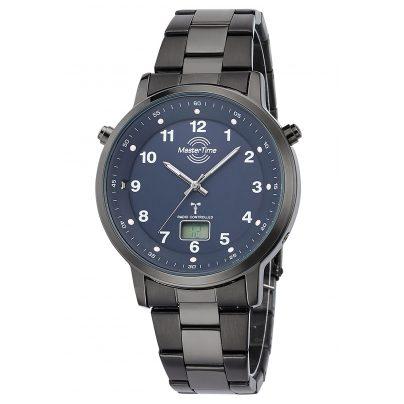 Master Time MTGA-10698-23M Herren-Armbanduhr Funk Specialist mit Stahlband 4260503036784