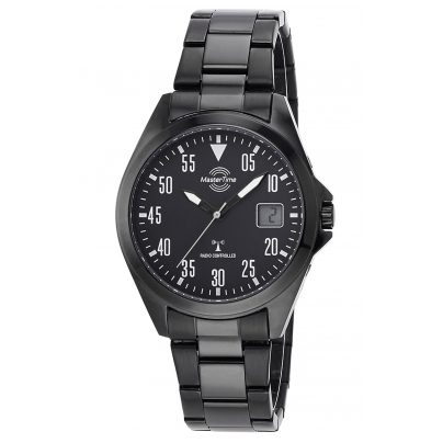 Master Time MTGA-10689-25M Funk-Armbanduhr für Herren Basic mit Stahlband 4260503034742