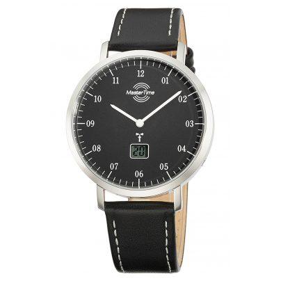 Master Time MTGS-10704-32L Funk Herrenuhr Advanced Architect Lederband Schwarz 4260503037200