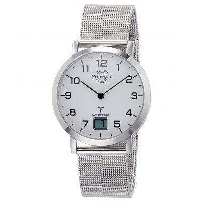 Master Time MTLS-10659-90M Damen-Funkuhr Advanced mit Milanaiseband 4260503033028