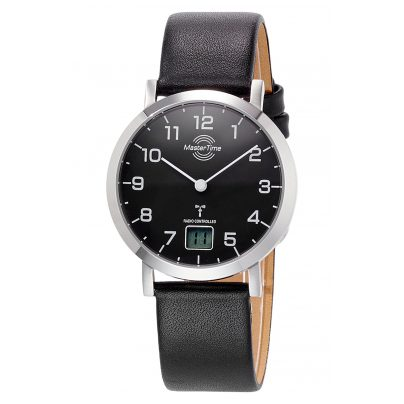 Master Time MTLS-10661-92L Women's Radio-Controlled Watch Advanced Leather Strap 4260503033042