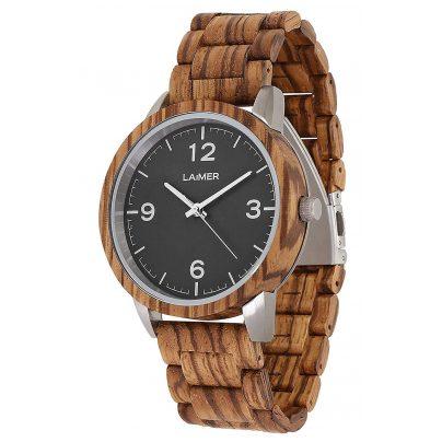 Laimer 0087 Wooden Men's Watch Elia 4260498090907