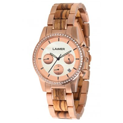 Laimer 0136 Damen-Multifunktionsuhr Kora 4260498092413