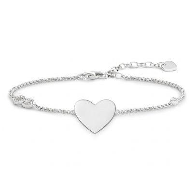 Thomas Sabo A1486-051-14 Damen-Armband Herz mit Infinity 4051245225532