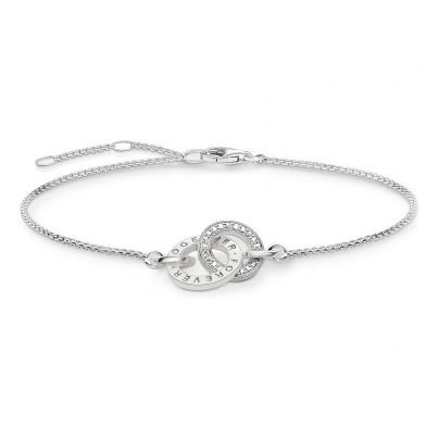 Thomas Sabo A1551-051-14 Damenarmband Together Forever 4051245265071