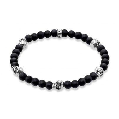 Thomas Sabo A1097-023-11 Unisex Bracelet Death´s Head